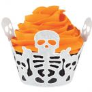 Skeleton Cupcake Wrap